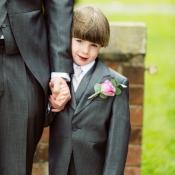 Page boy Rose buttonhole